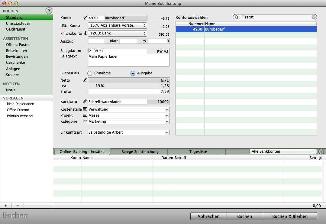 mac und pc rechnungssoftware f r freiberufler und selbst ndige software zum schreiben der. Black Bedroom Furniture Sets. Home Design Ideas