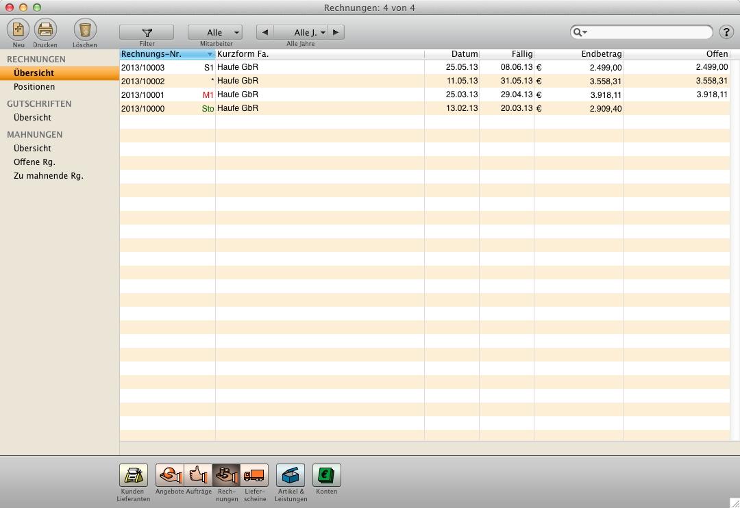 dienstleister software vom angebot ber den auftrag zur rechnung programm f r apple mac und. Black Bedroom Furniture Sets. Home Design Ideas