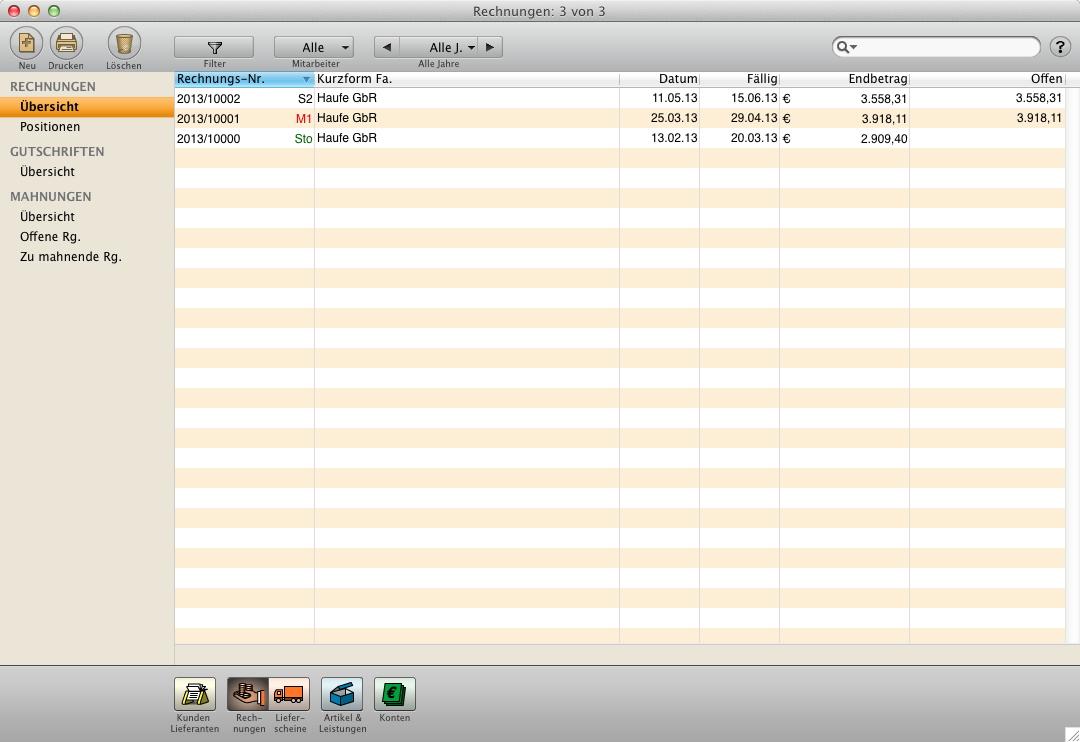 Software Rechnung Schreiben Rechnungssoftware Programm Für Mac