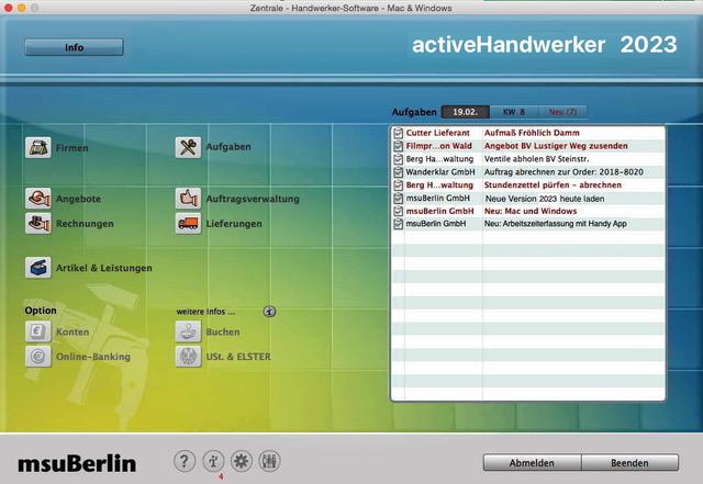 Handwerker Apple Mac Windows Pc Handwerkersoftware Im
