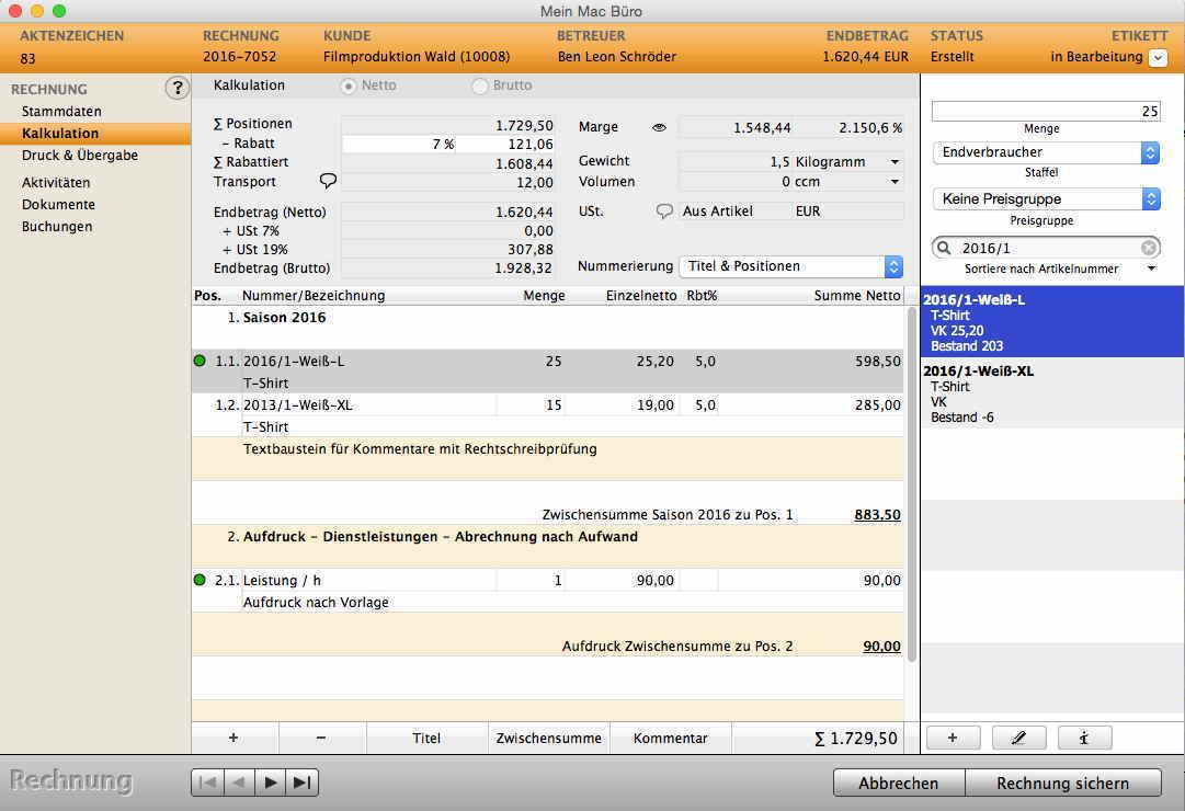 Agentursoftware Für Mac Und Pc Crm Leads Angebote Jobs Mit Zeit