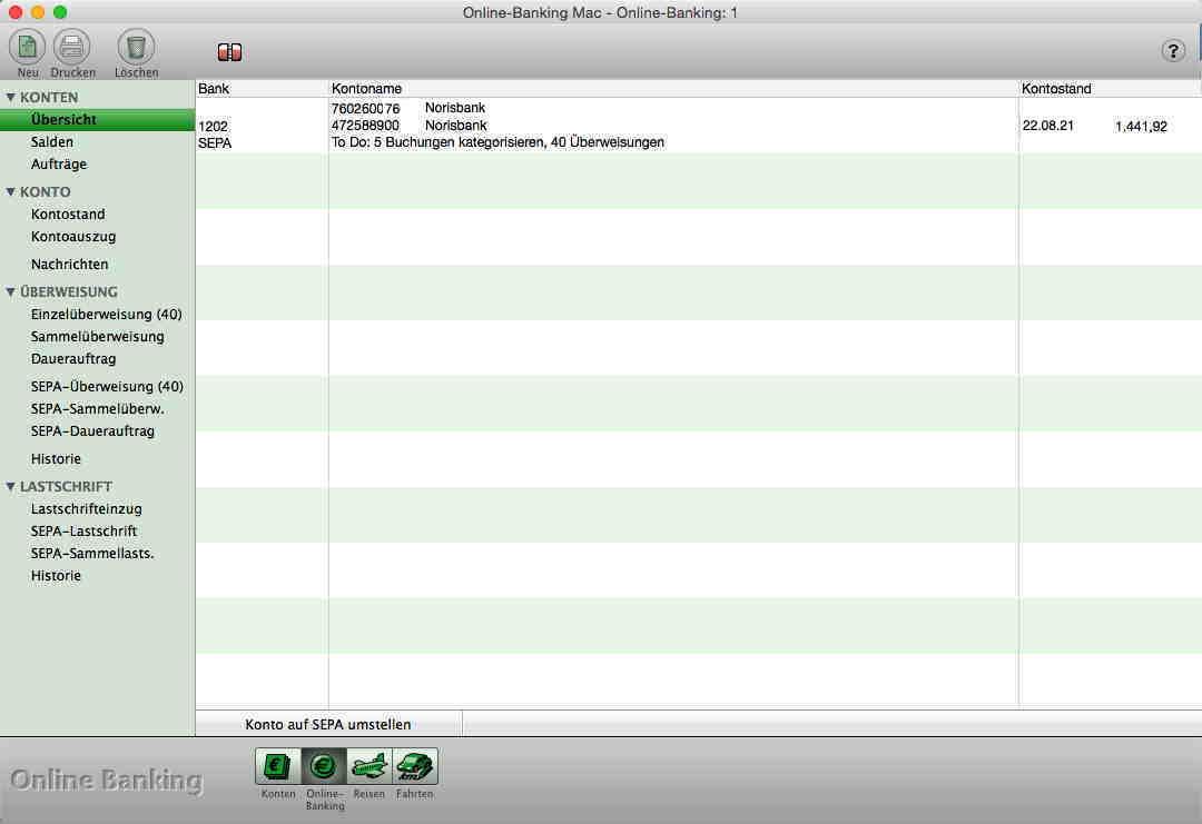 mac und pc kassenbuch f r apple computer und windows pc buchhaltung elster online banking. Black Bedroom Furniture Sets. Home Design Ideas