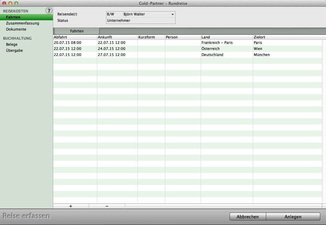 software reisekostenabrechnung mit mac und pc programm. Black Bedroom Furniture Sets. Home Design Ideas